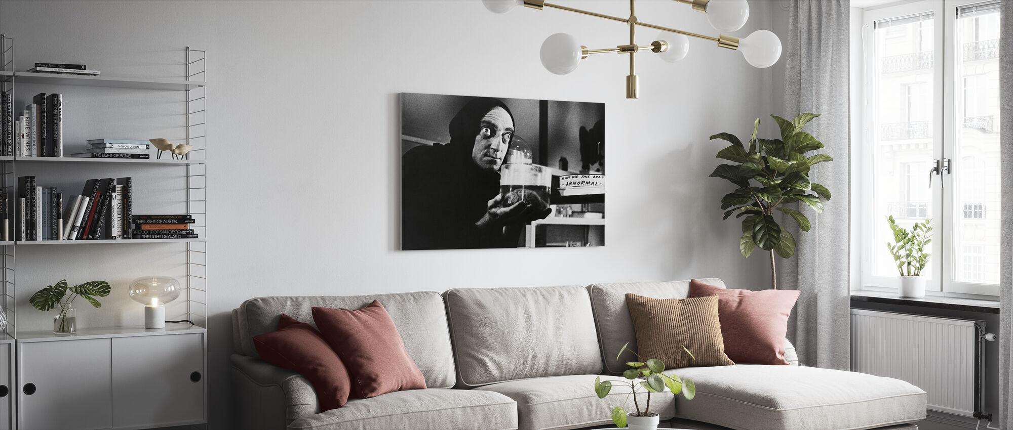 Unge Frankenstein - Marty Feldman - Lerretsbilde - Stue