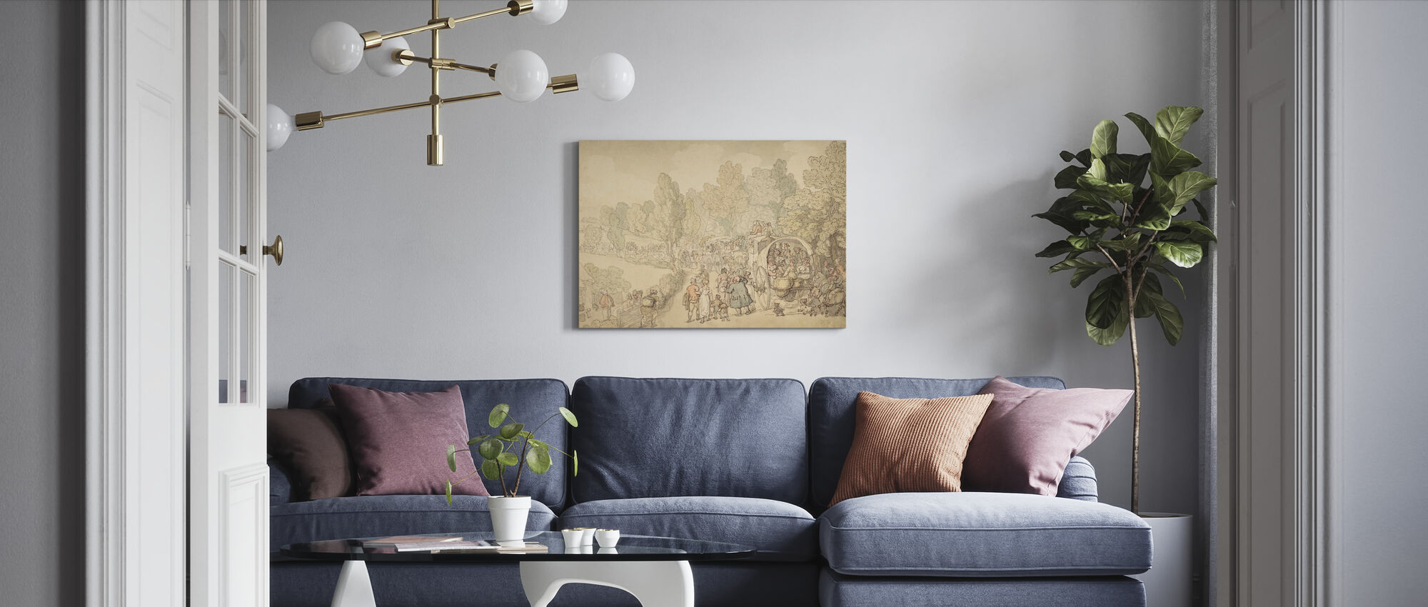 Fairlop-beurs - Canvas print - Woonkamer