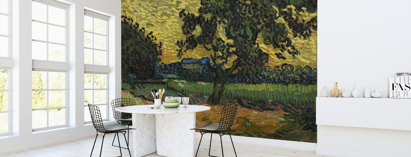 Landscape at Twilight - Vincent Van Gogh - Wallpaper - Kitchen