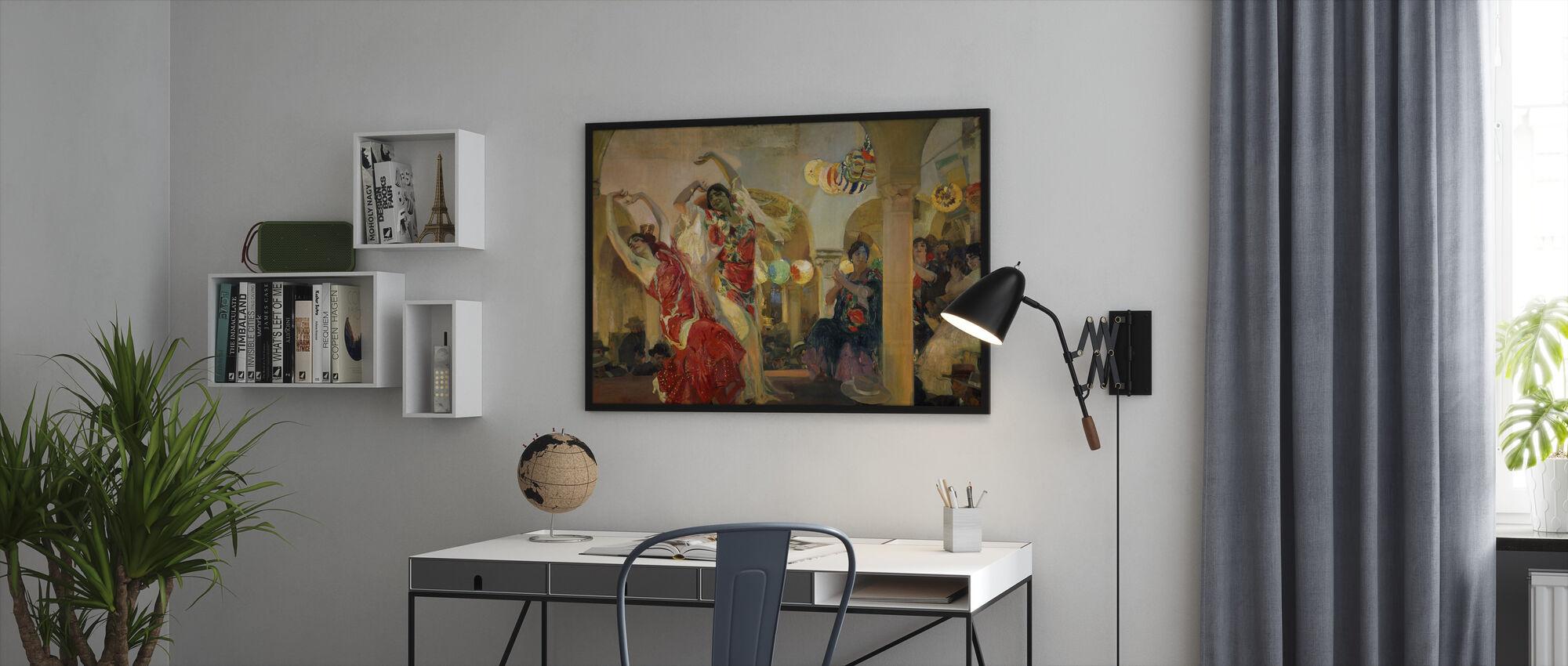 Women Dancing - Joaquin Sorolla - Framed print - Office