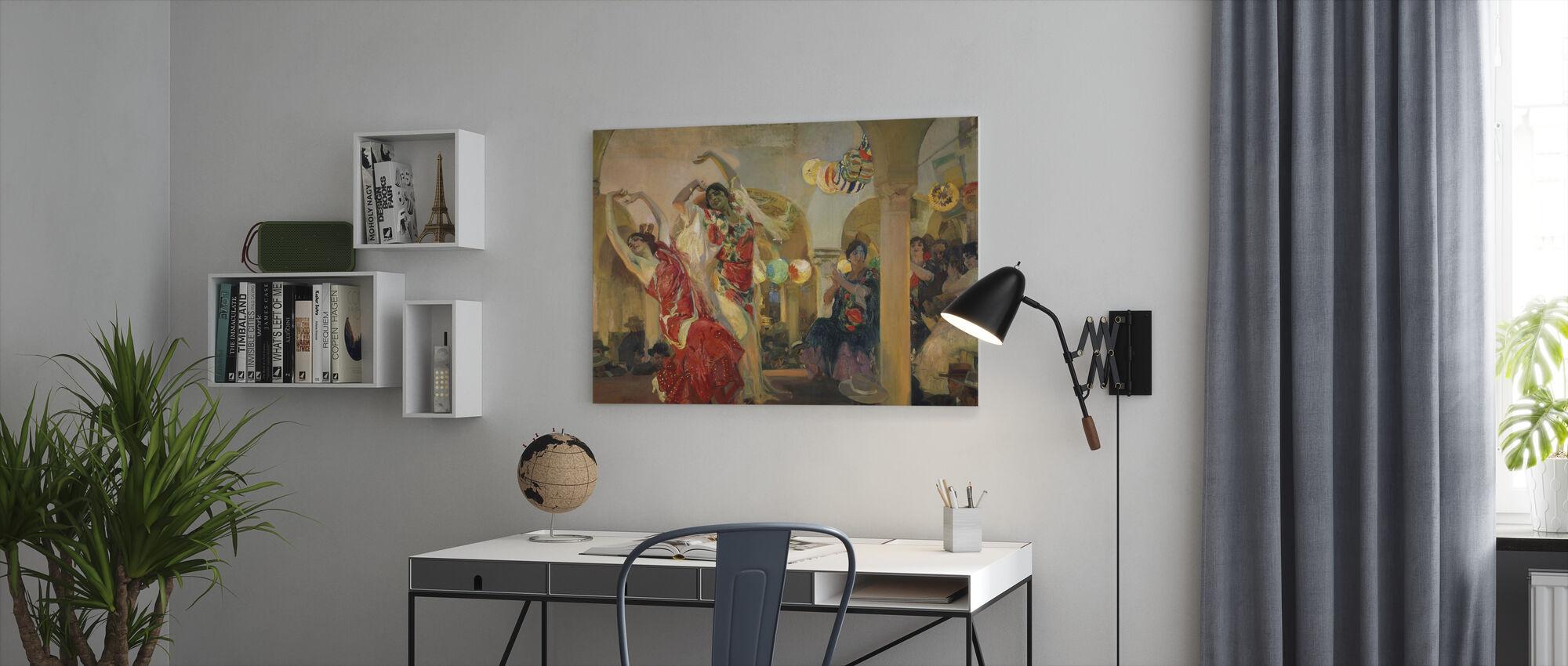 Women Dancing - Joaquin Sorolla - Canvas print - Office