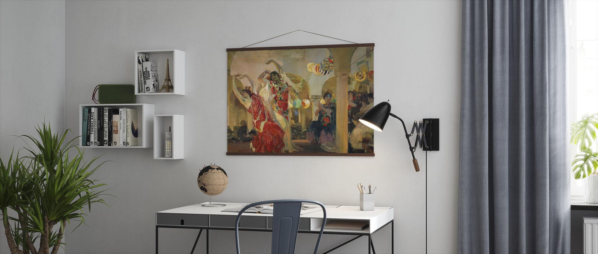 Dans Kvinner - Joaquin Sorolla - Plakat - Kontor