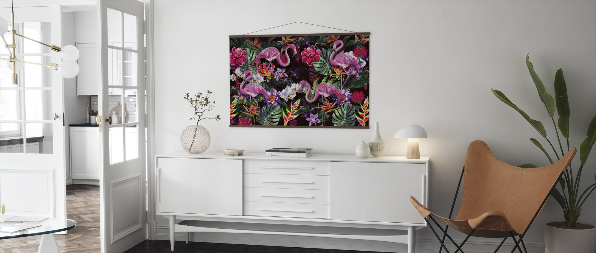 Pink Flamingos - Poster - Living Room