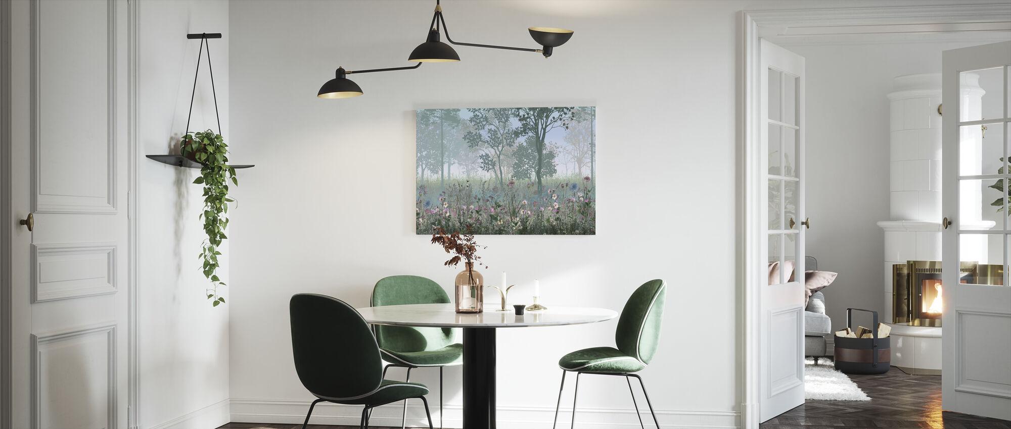 Hazy Forest - Canvas print - Kitchen