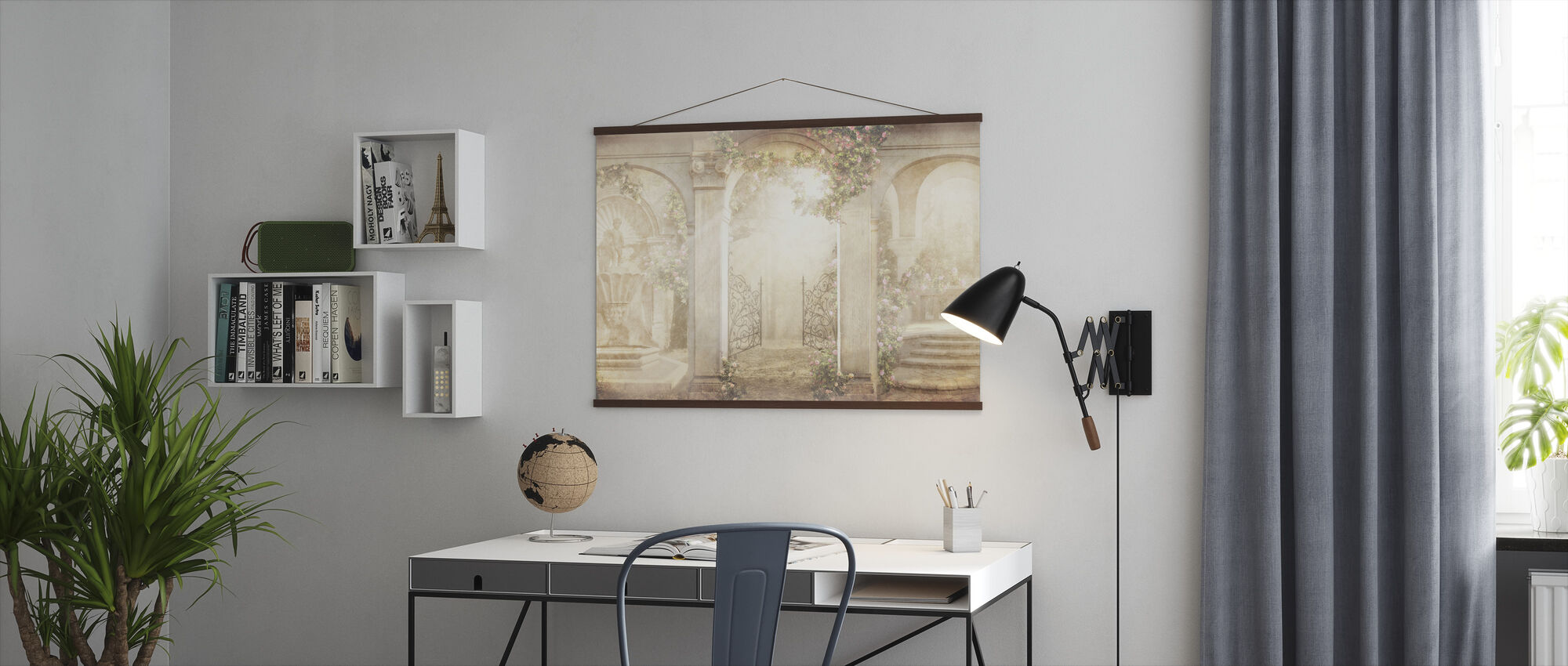 Beautiful Patio - Poster - Office