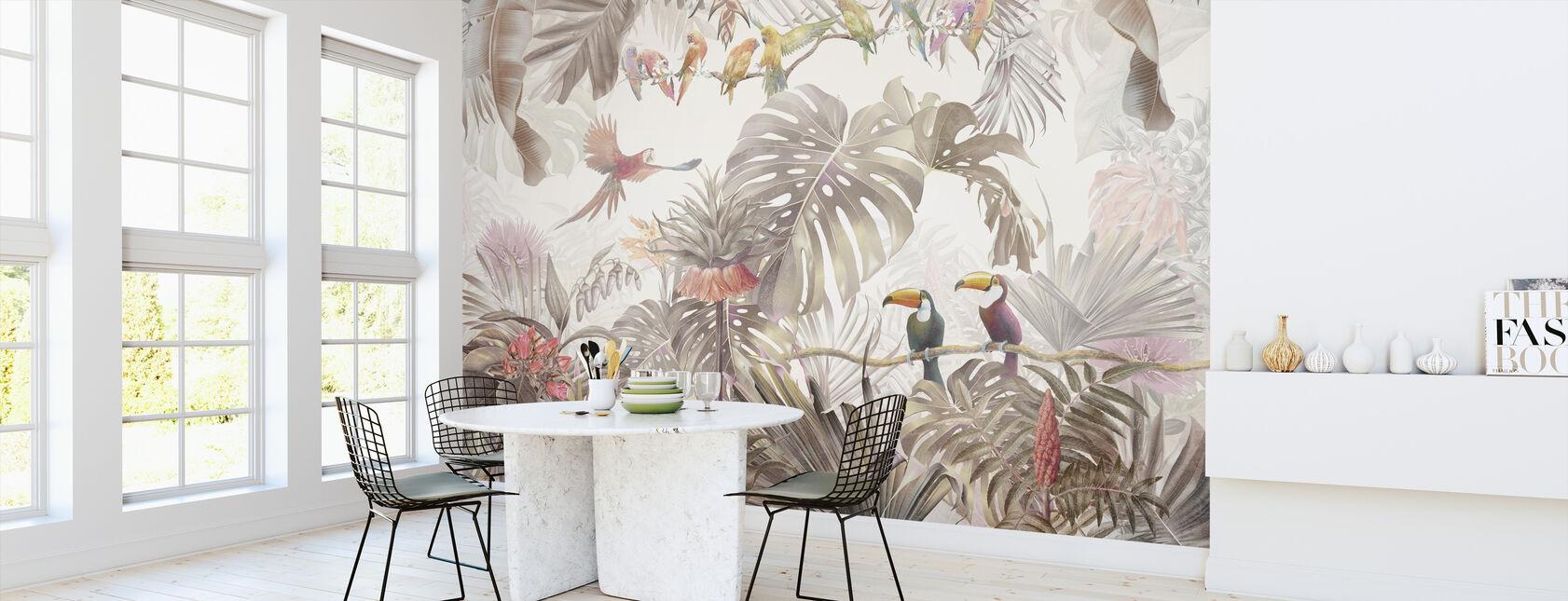 Tropical Birds - Wallpaper - Kitchen