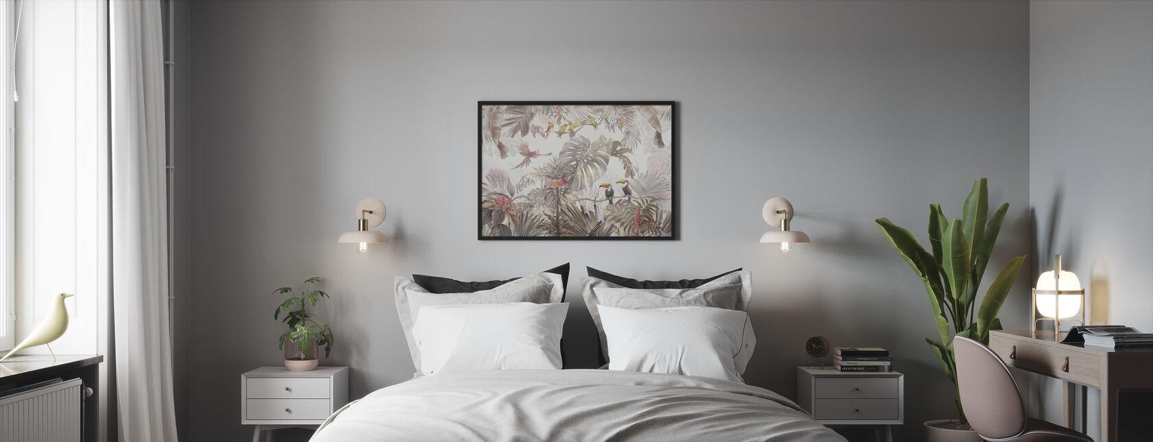 Tropical Birds - Framed print - Bedroom