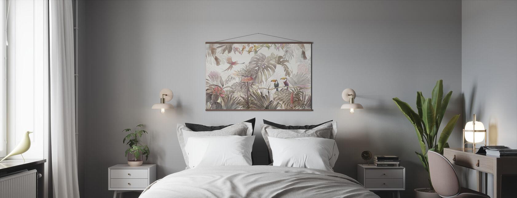 Tropical Birds - Poster - Bedroom