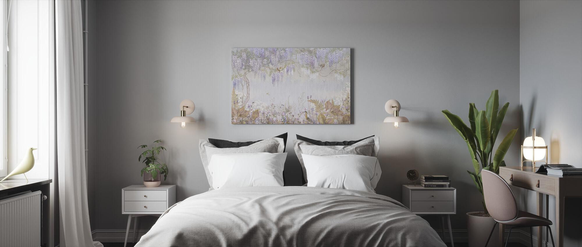Purple Meadow - Canvas print - Bedroom