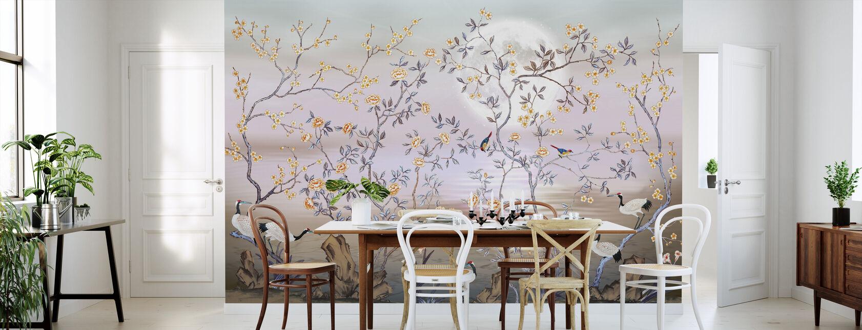 Birds in Beautiful Scenery - Wallpaper - Kitchen