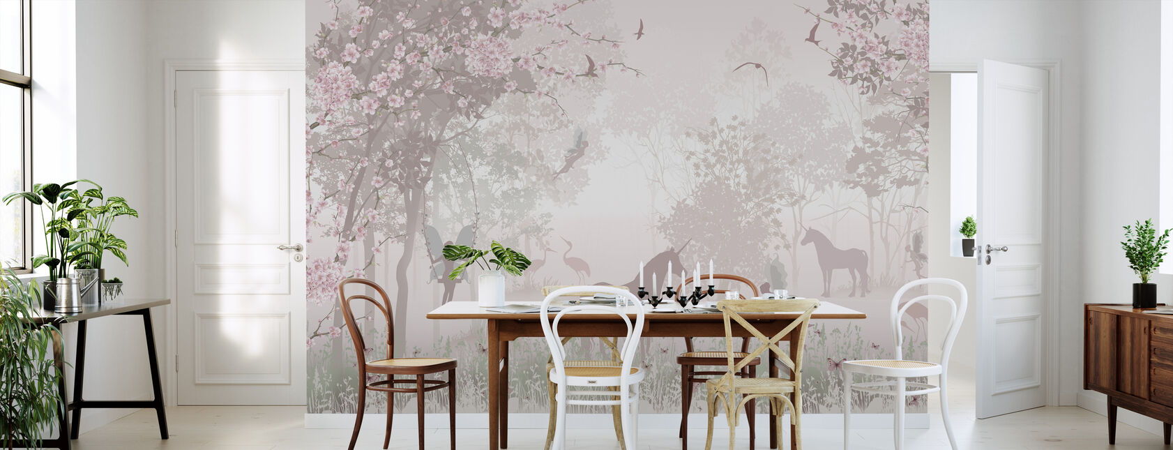 Unicorns and Fairies - Wallpaper - Kitchen