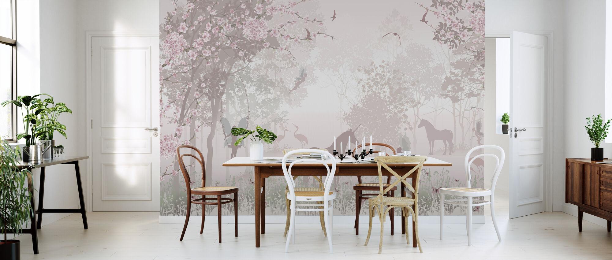 Unicorns and Fairies - Wallpaper - Kitchen