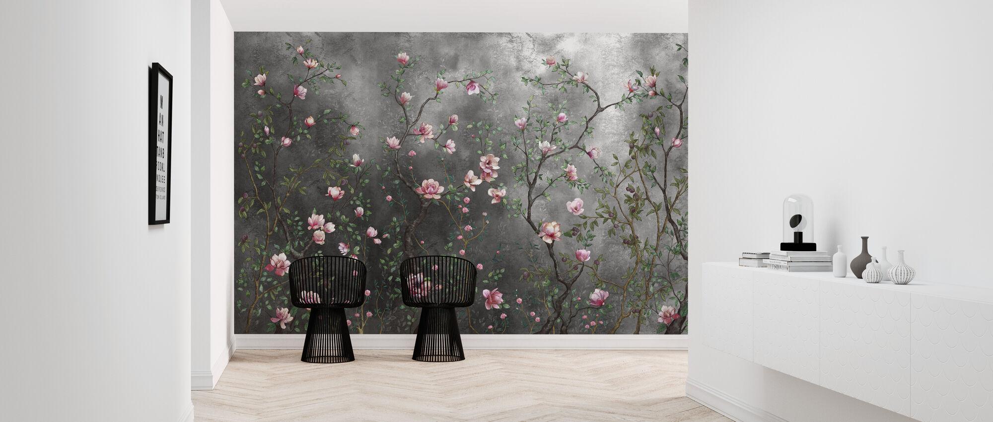 Cumulative Growth - Wallpaper - Hallway