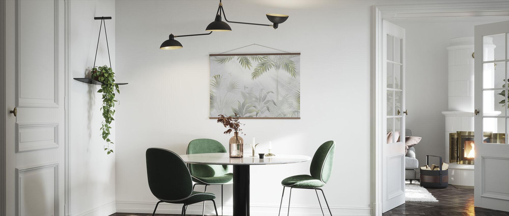 Foggy Jungle - Olive - Poster - Kitchen