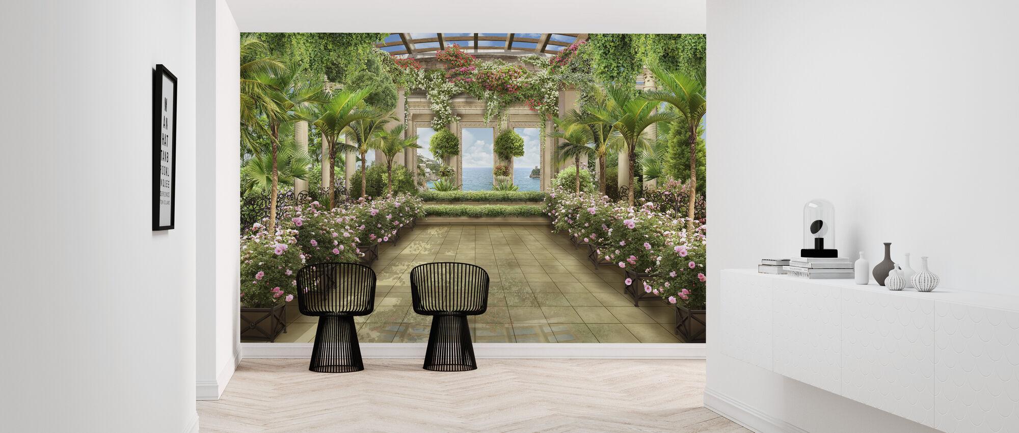 Greenhouse - Wallpaper - Hallway
