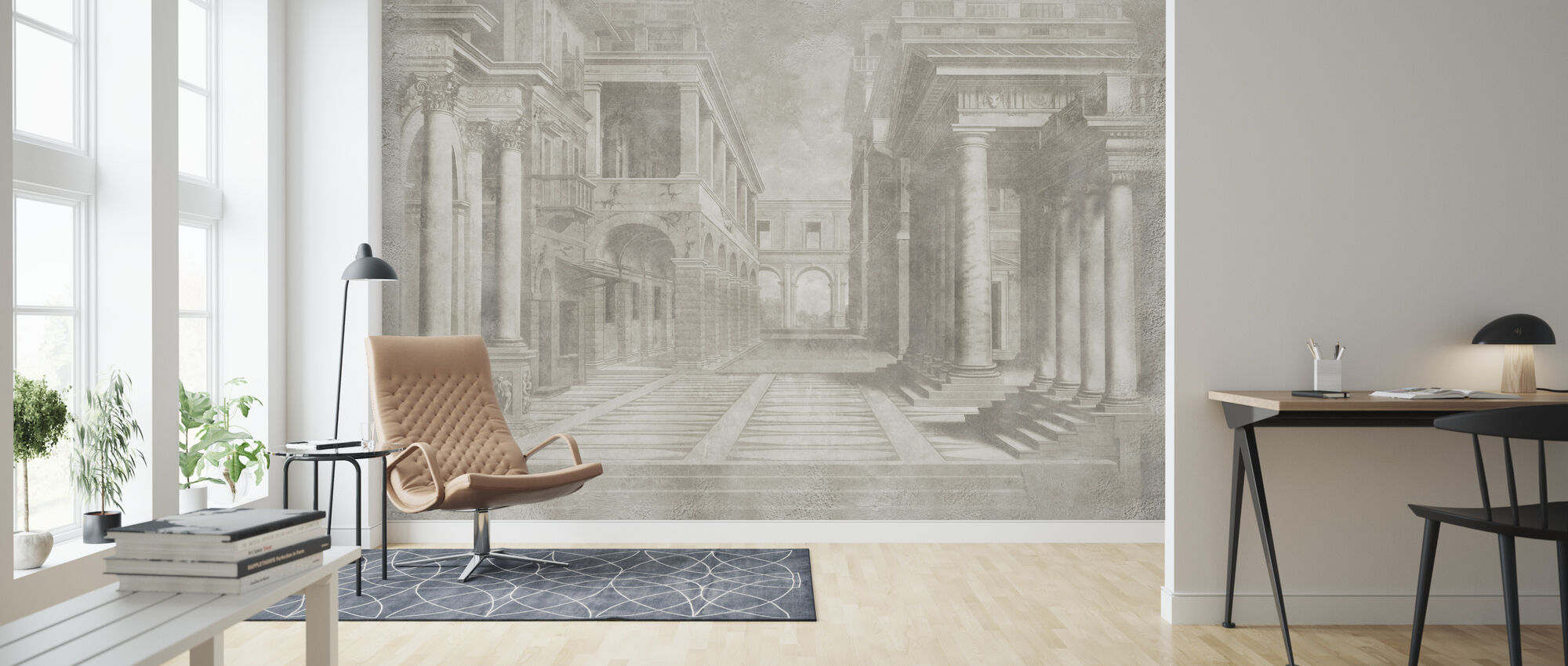 Paris Bordon - Wallpaper - Living Room