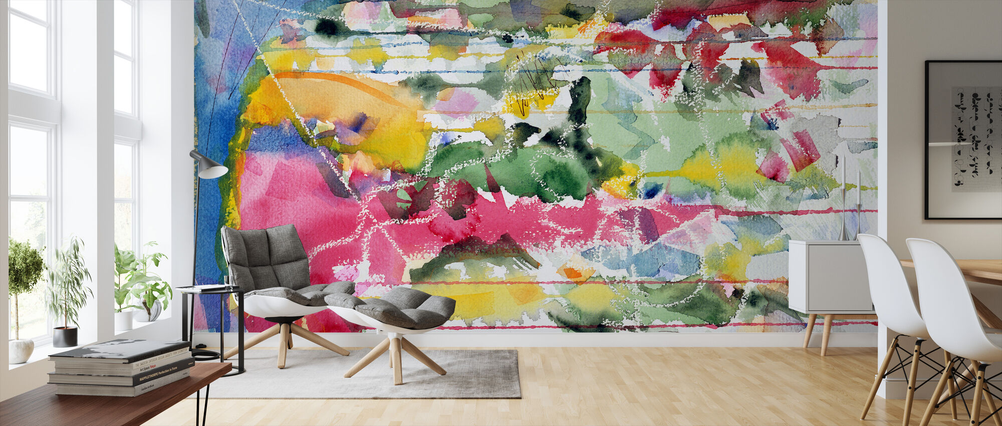 Blue Monday Dreaming - Mark Ari - Wallpaper - Living Room