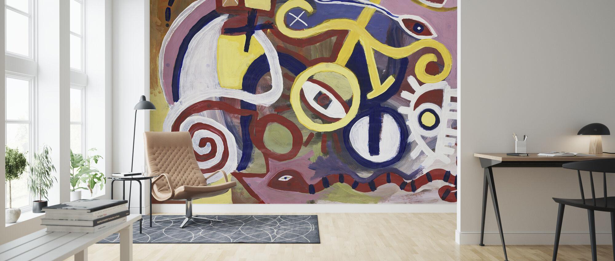 Seer - Arnold Rice - Wallpaper - Living Room
