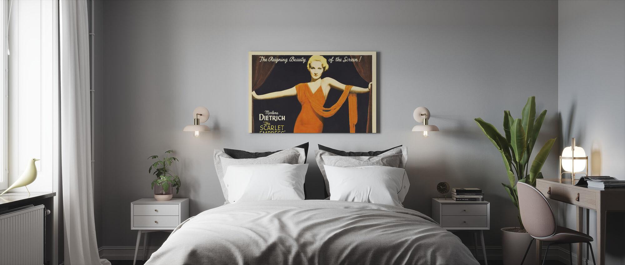 Scarlet Empress - Josef Von Sternberg - Canvas print - Bedroom