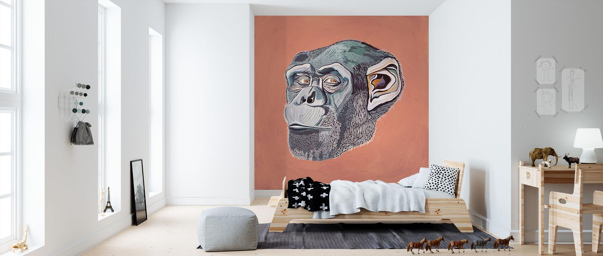 Ape - Wallpaper - Kids Room