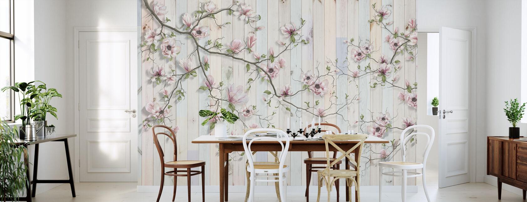 Magnolia Plank veggen - Tapet - Kjøkken