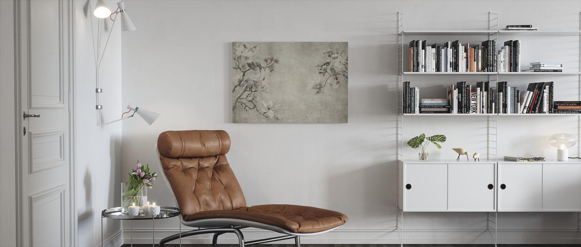 Vintage Triaste - Canvas print - Living Room