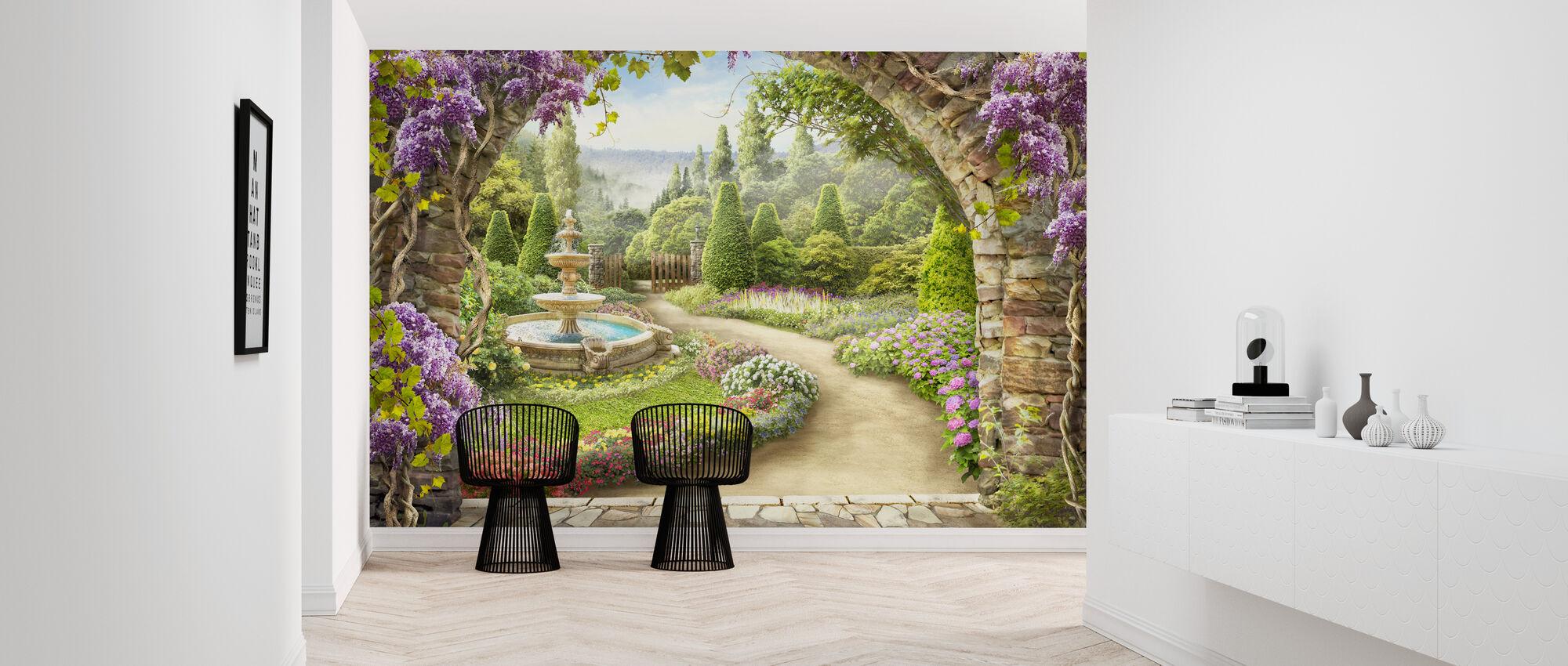Provence Garden - Wallpaper - Hallway