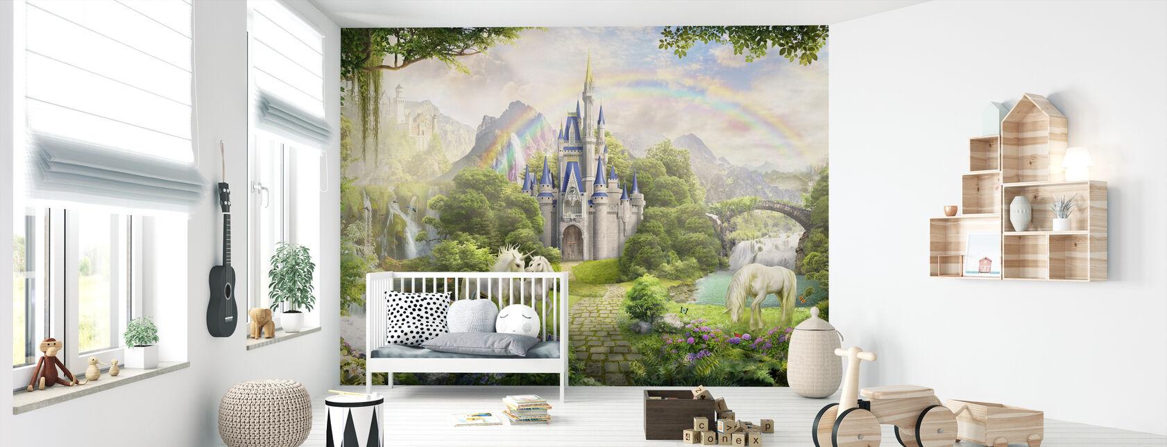 Unicorns Residence - Wallpaper - Nursery