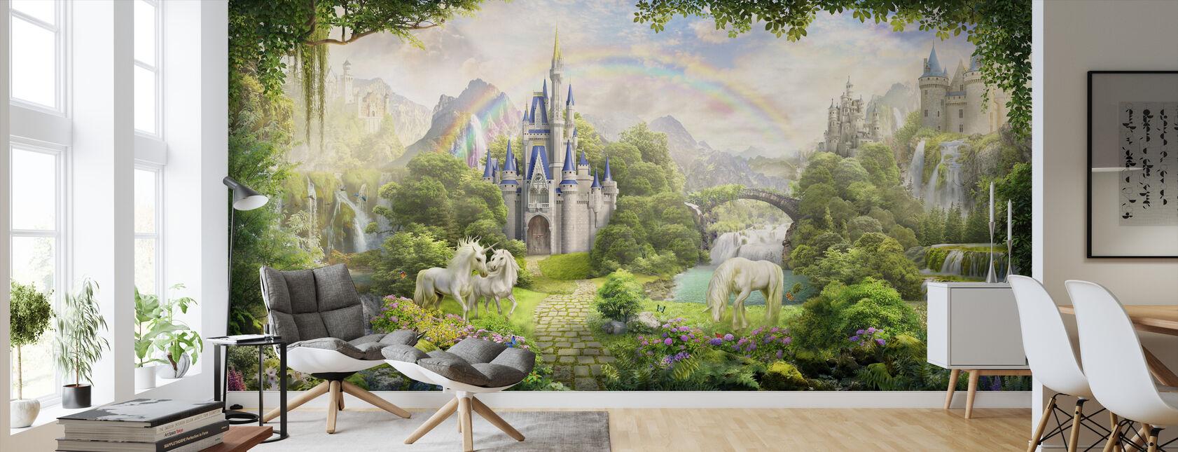 Unicorns Residence - Wallpaper - Living Room