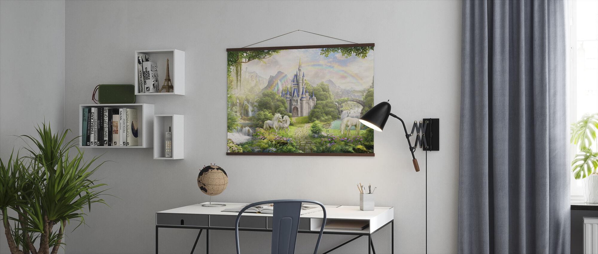 Eenhoorns Residentie - Poster - Kantoor