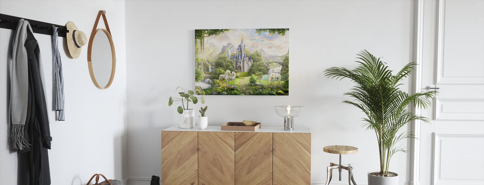 Unicorns Residence - Canvas print - Hallway