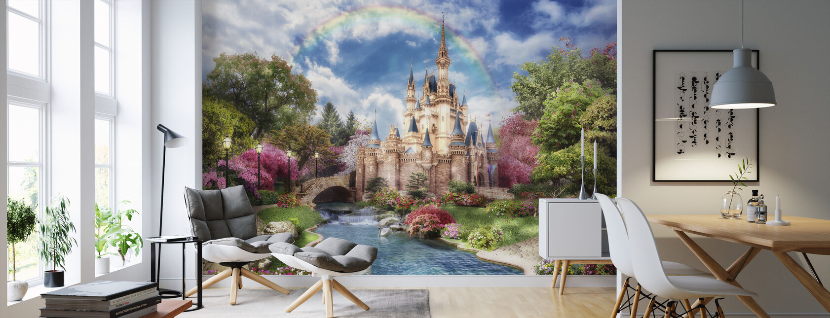 Magic Castle - Wallpaper - Living Room