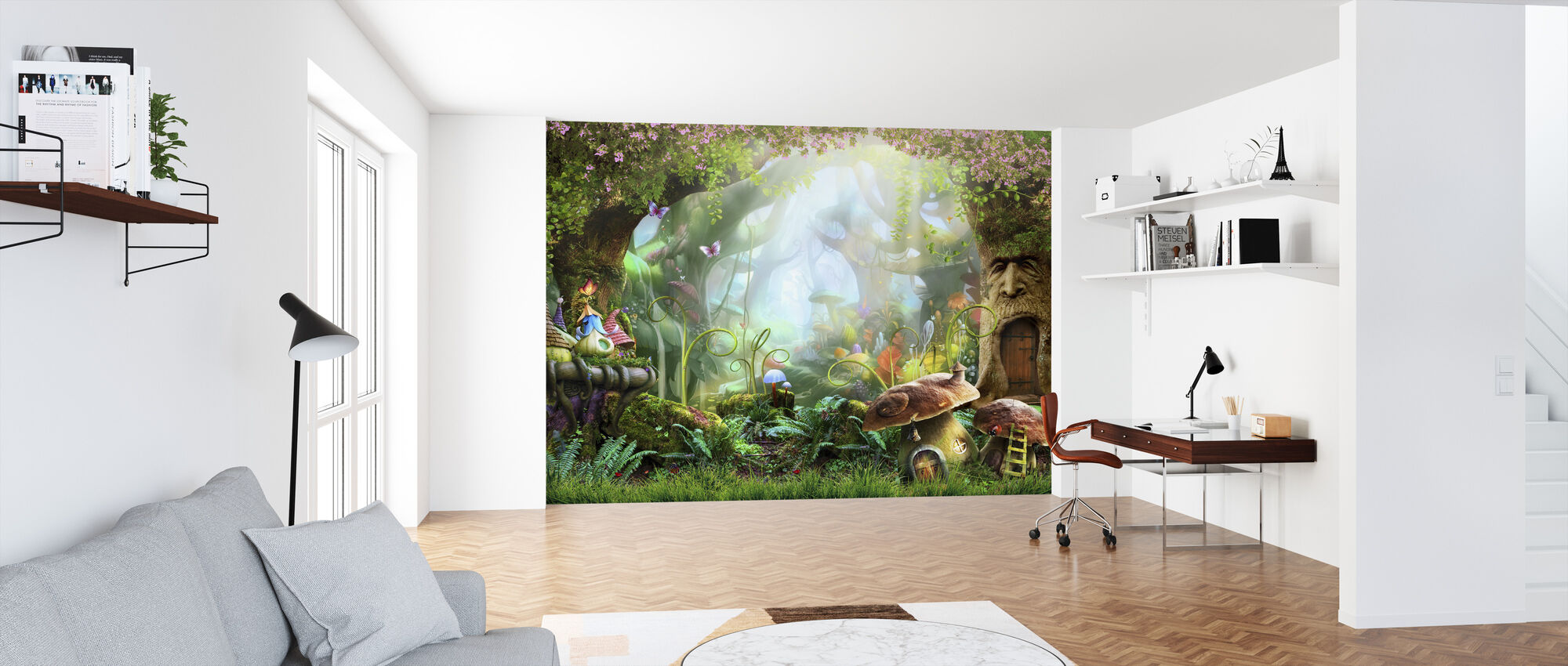Enchanted Forest - Wallpaper - Office