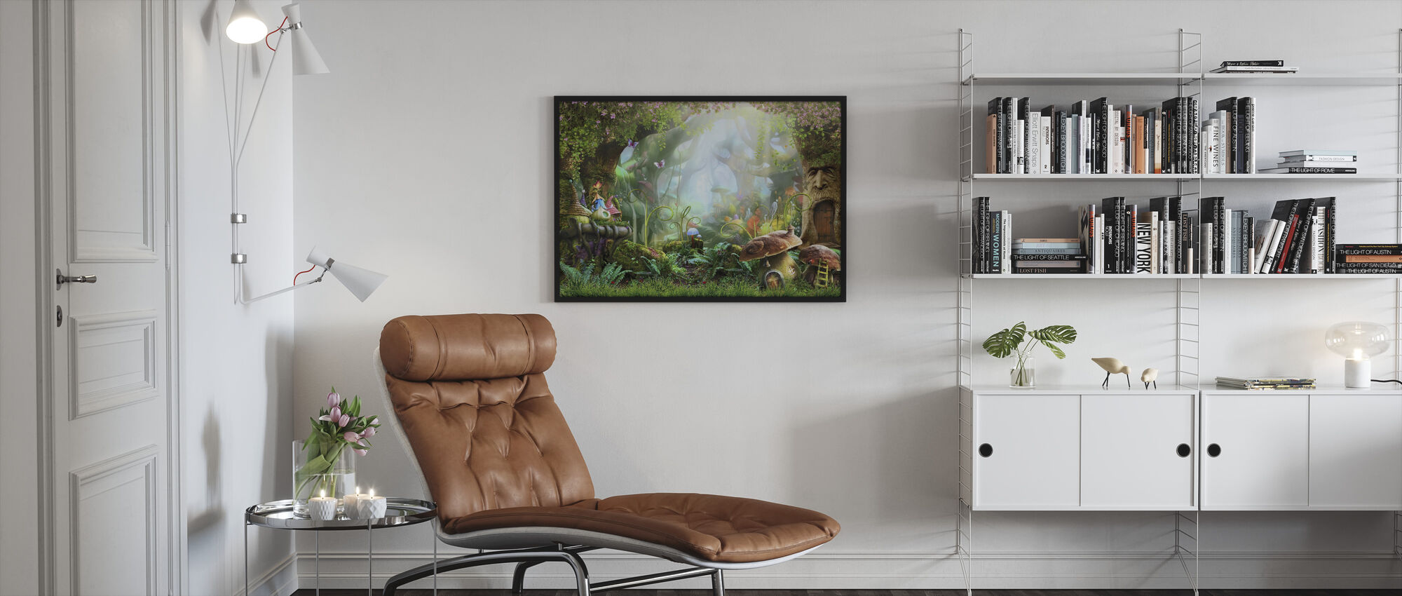 Enchanted Forest - Framed print - Living Room