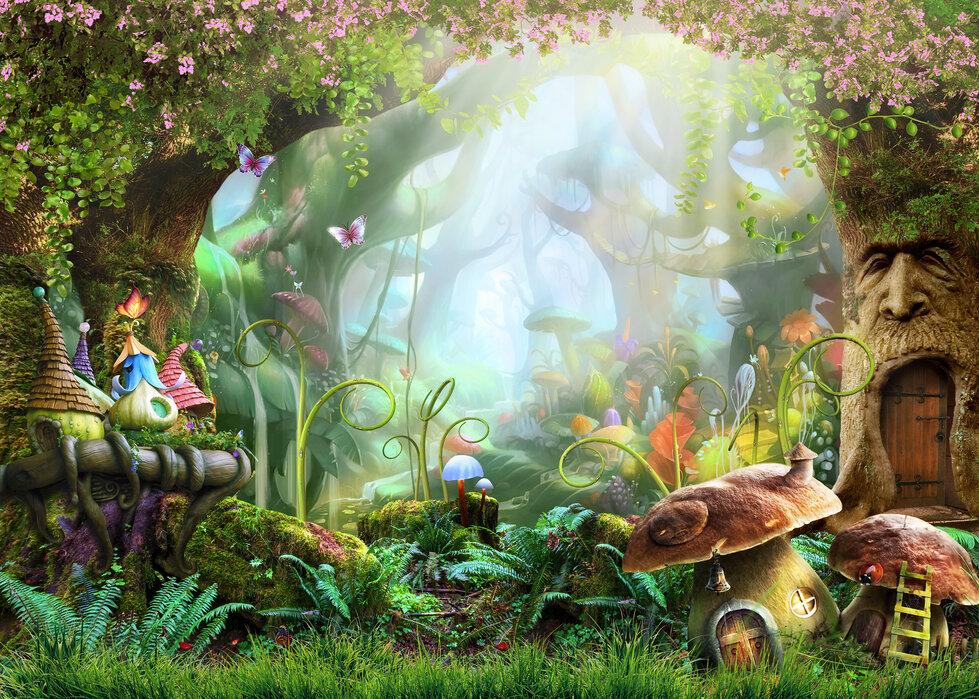 Enchanted Forest Wall Murals Online Photowall