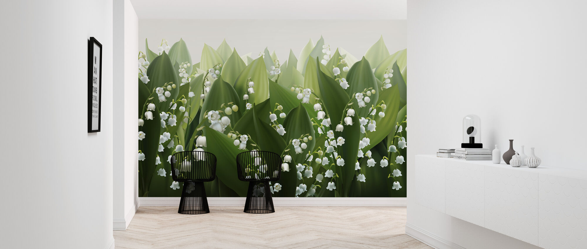 Lily of the Valley - Wallpaper - Hallway