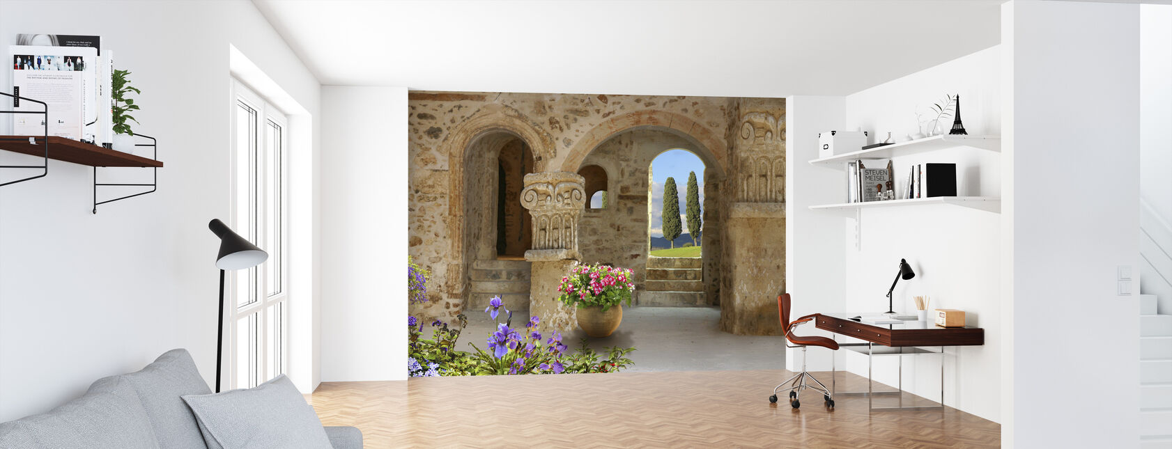 Old Stone Port - Wallpaper - Office