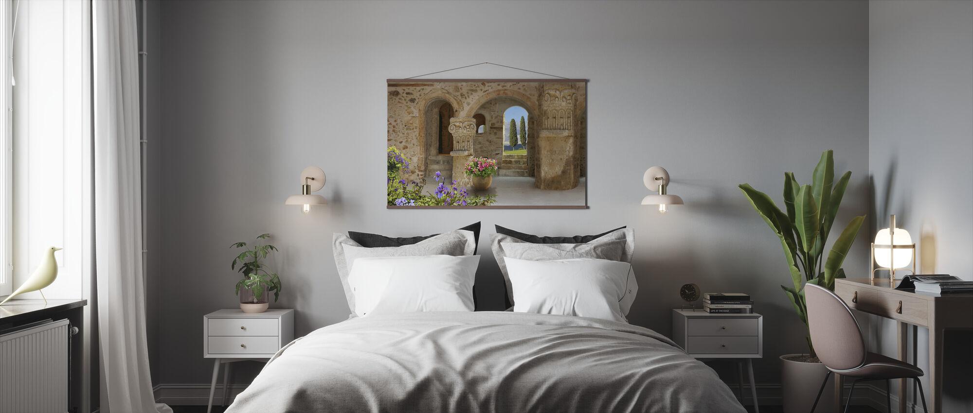 Old Stone Port - Poster - Bedroom
