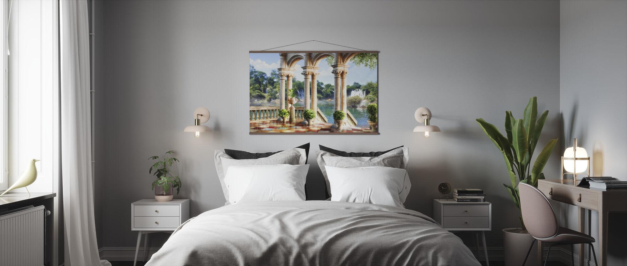 Antique Oasis - Poster - Bedroom