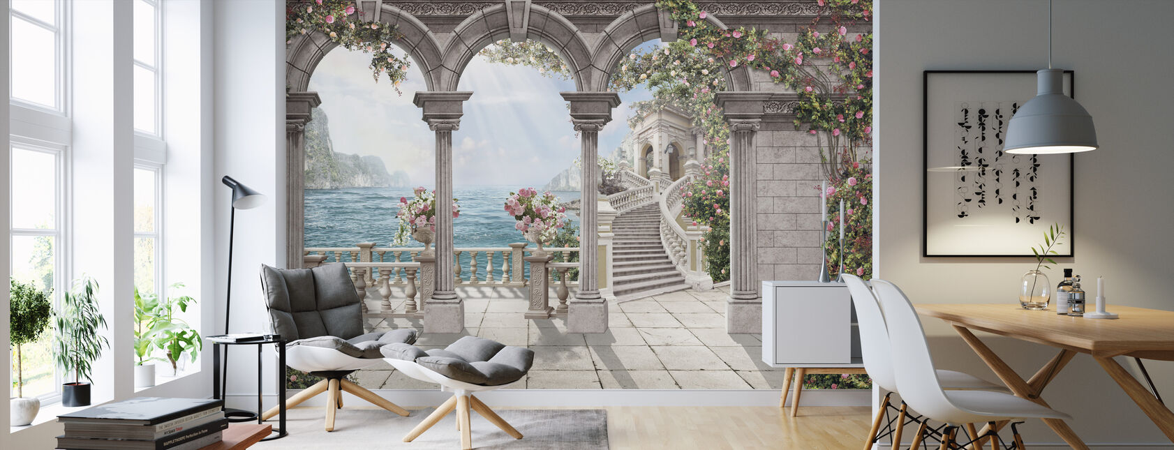 Antiikki patio - Tapetti - Olohuone