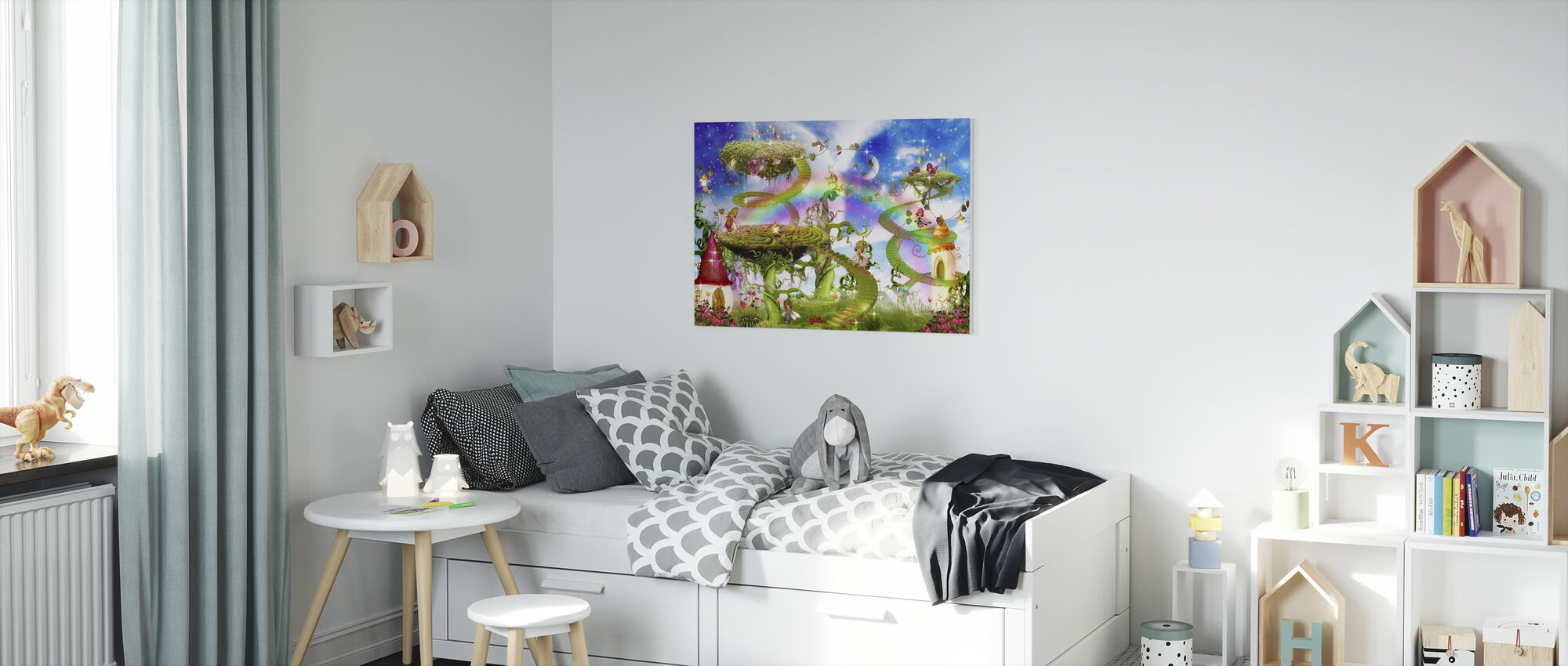 Magic Rainbow - Canvas print - Kids Room