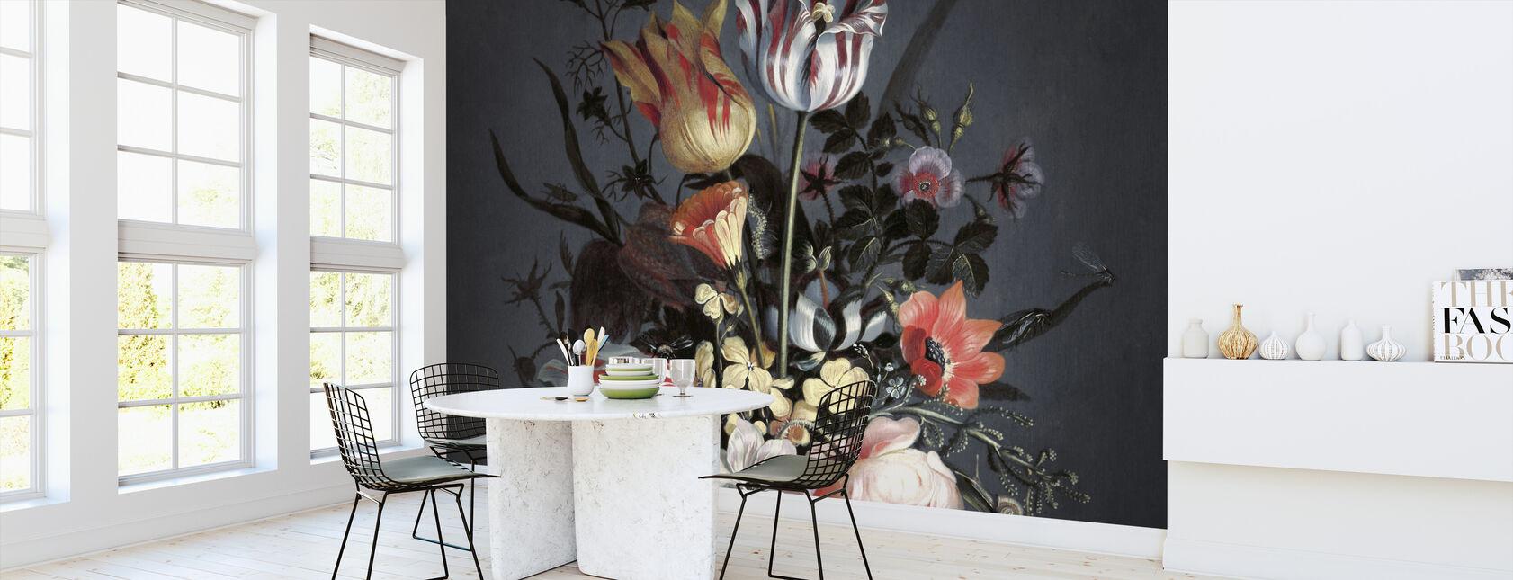 Dramatic Bouquet - Wallpaper - Kitchen