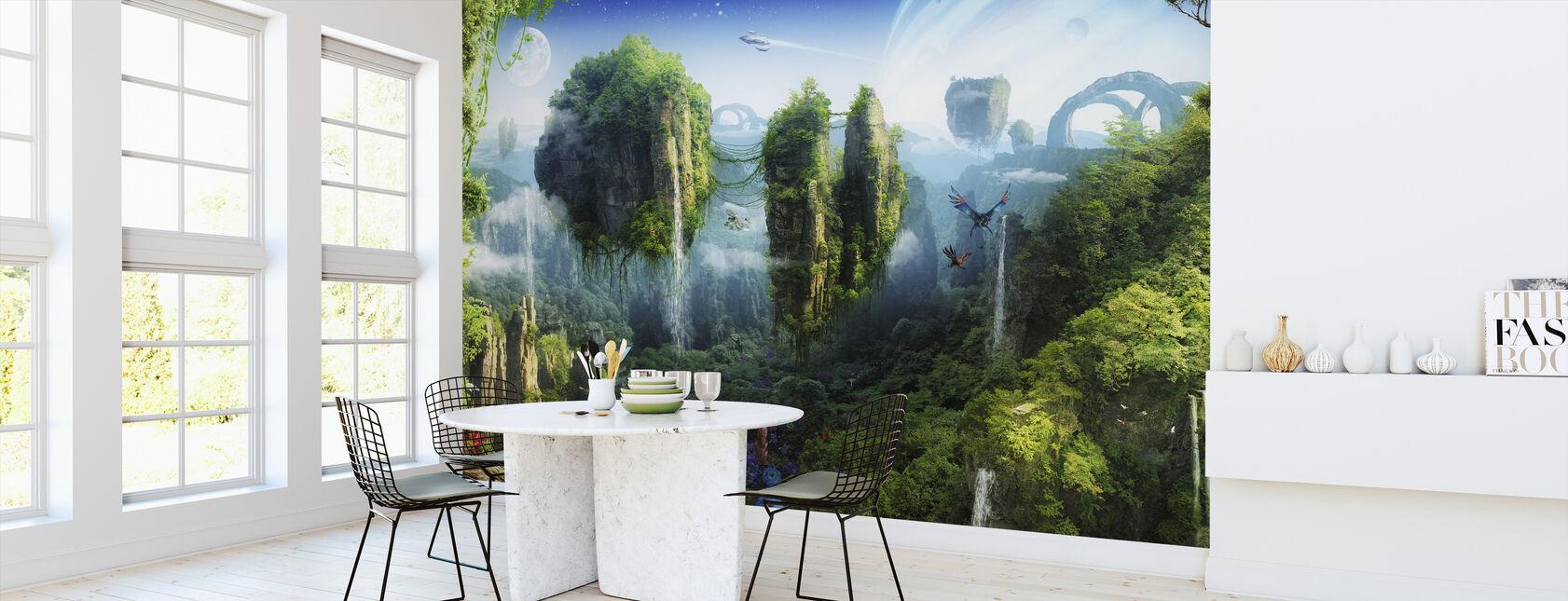 Magisk tropisk skog - Tapet - Kjøkken