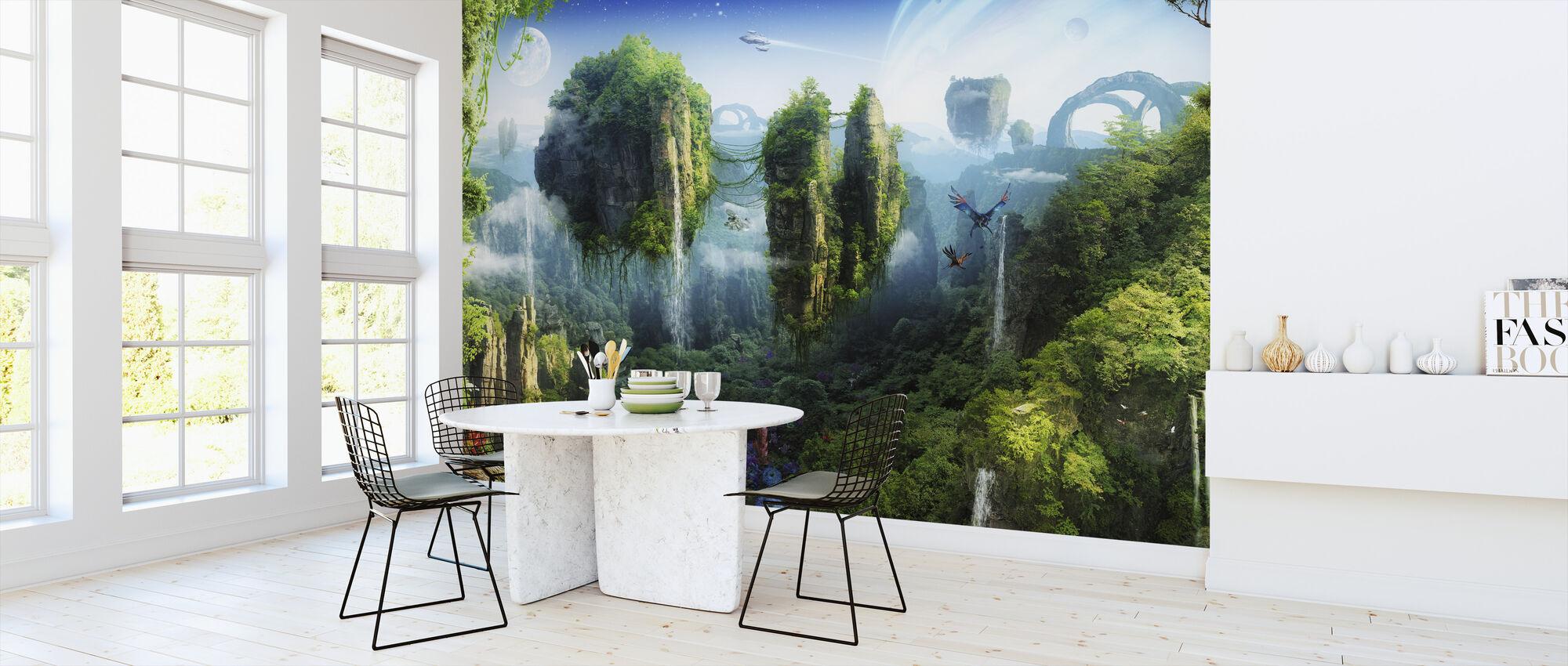 Magisch Tropisch Woud - Behang - Keuken