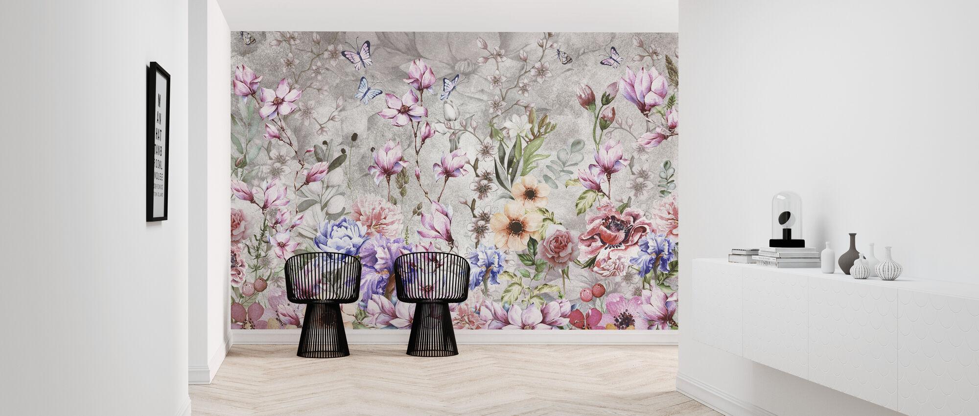 Summer Flowers - Wallpaper - Hallway