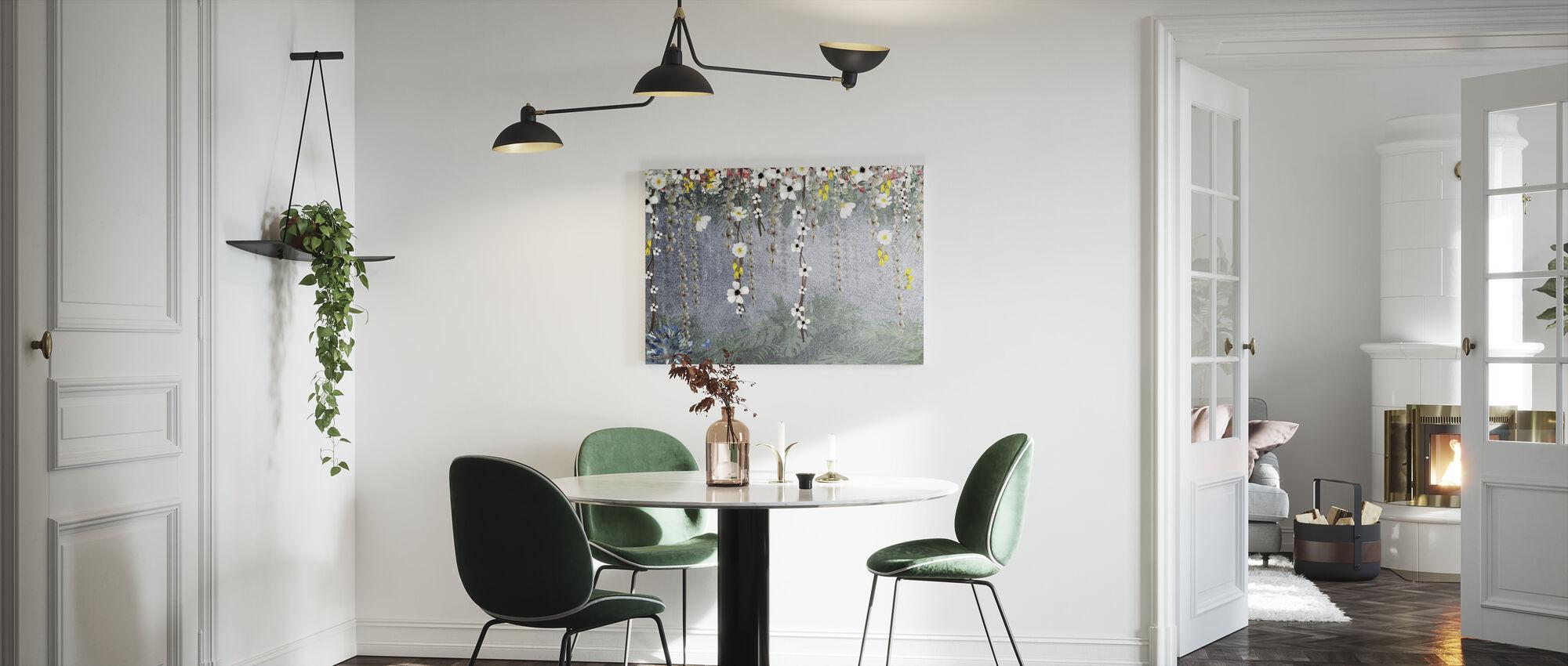 Pendent Blossom - Canvas print - Kitchen