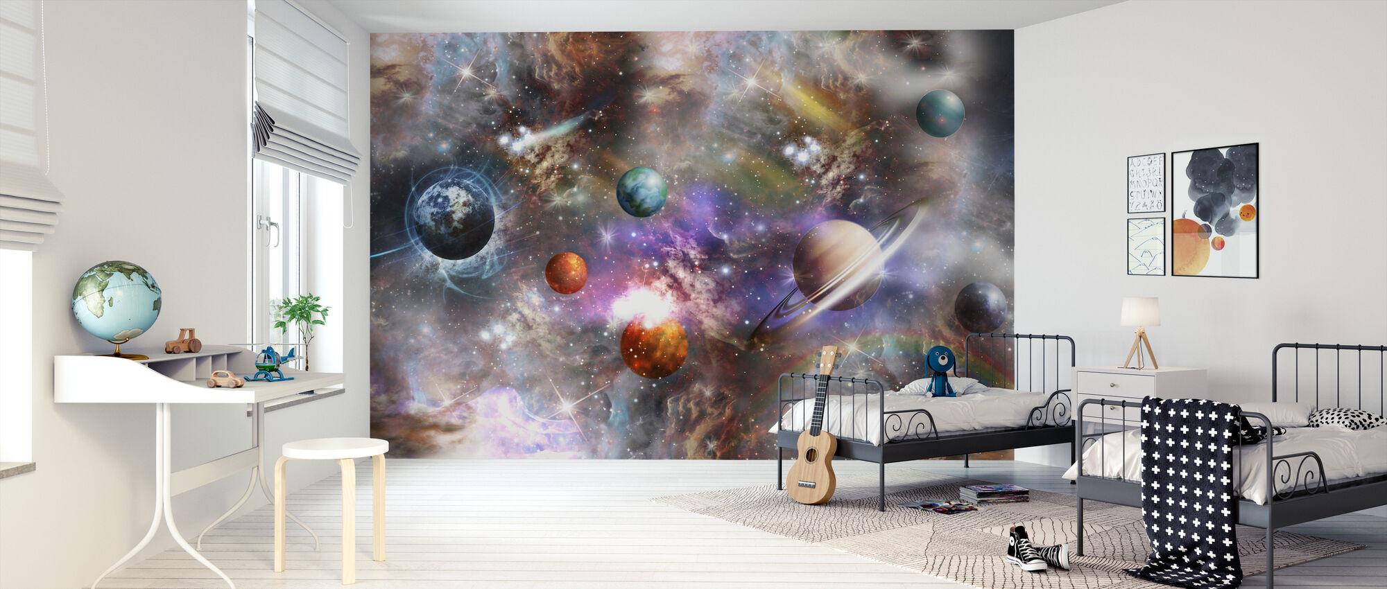 Levendige ruimte - Behang - Kinderkamer