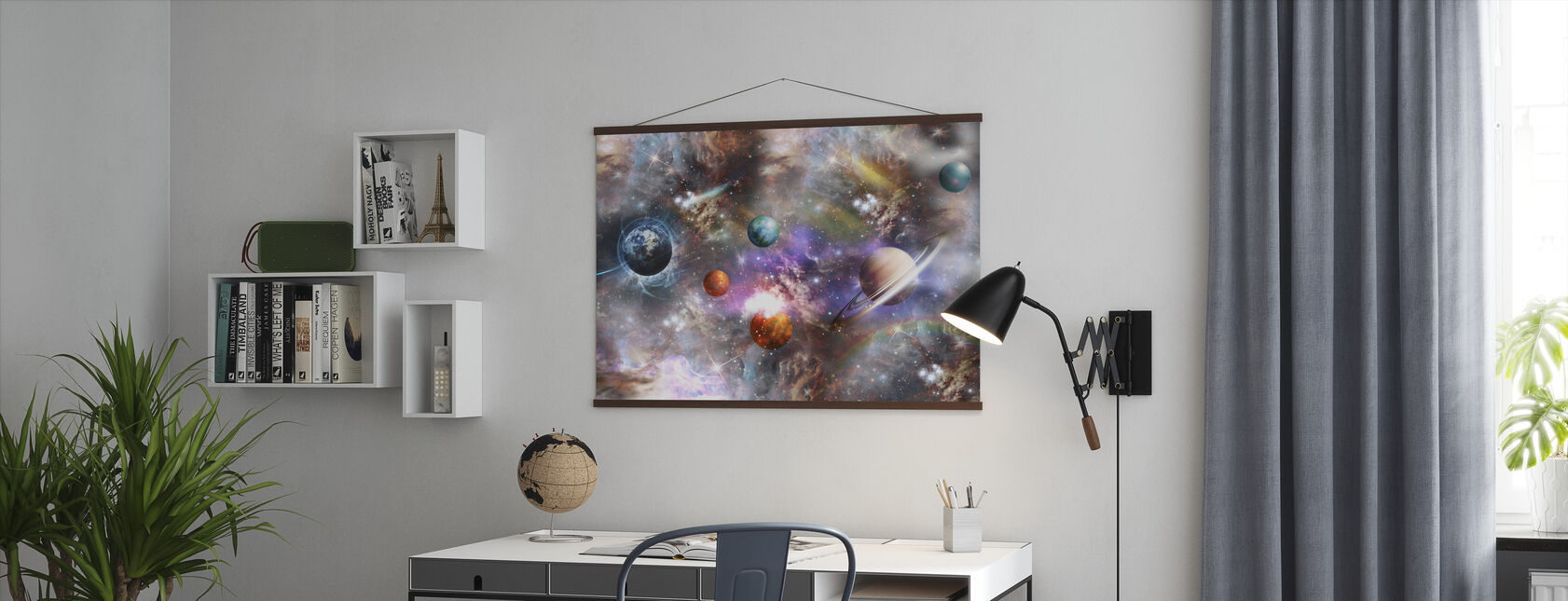 Vibrant Space - Poster - Office