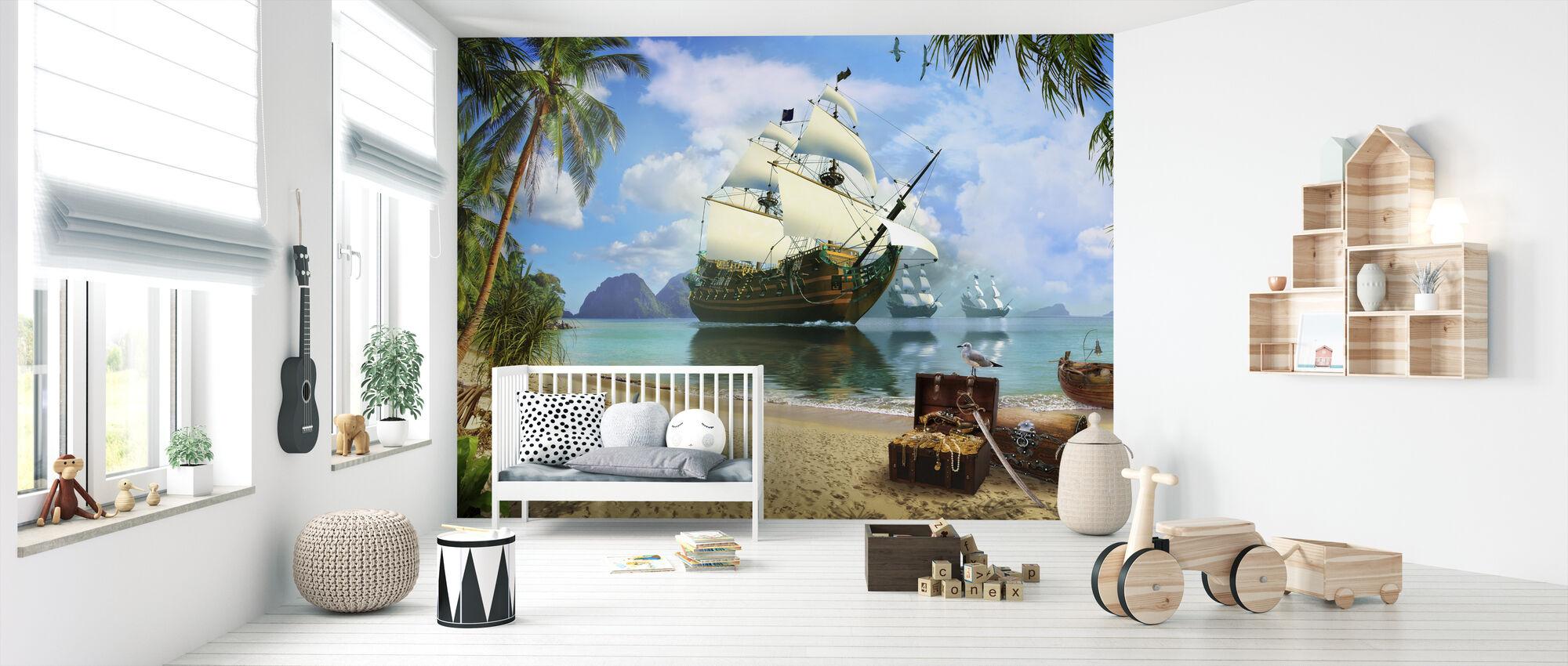 Caribbean Treasures - Wallpaper - Nursery