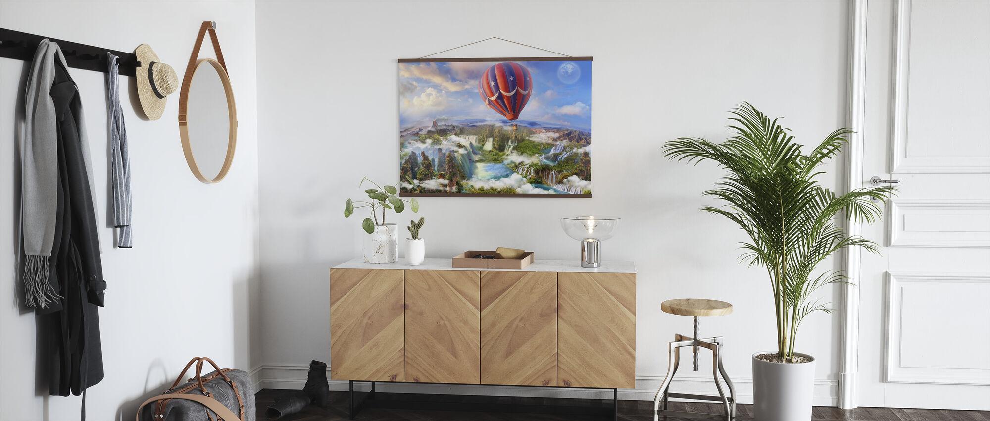 Hot Air Balloon - Poster - Hallway